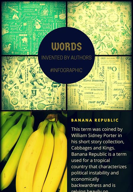 Words invented  by famous authors